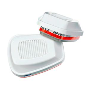 Фильтр 3М 6096 (А1E1HgP3 R) от паров ртути, кислых газов и хлора