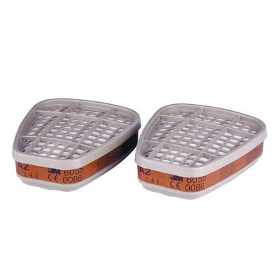 3M™ 6055 Фильтр для защиты от органических газов и паров, А2