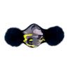 Маска зимняя OXY камуфляж желтый